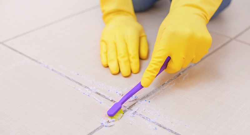 Fliesenfugen reinigen 5 Hausmittel die wirken