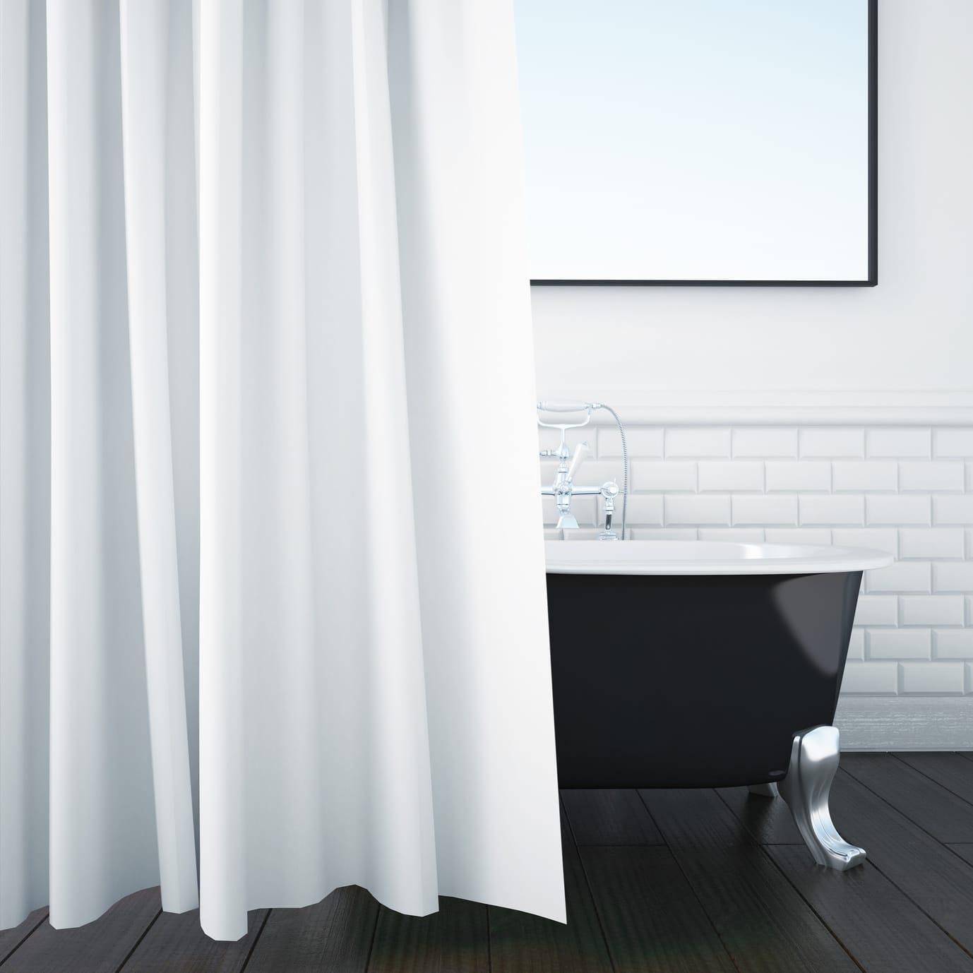 Duschvorhang reinigen  4 Tipps  Haushaltstippsnet