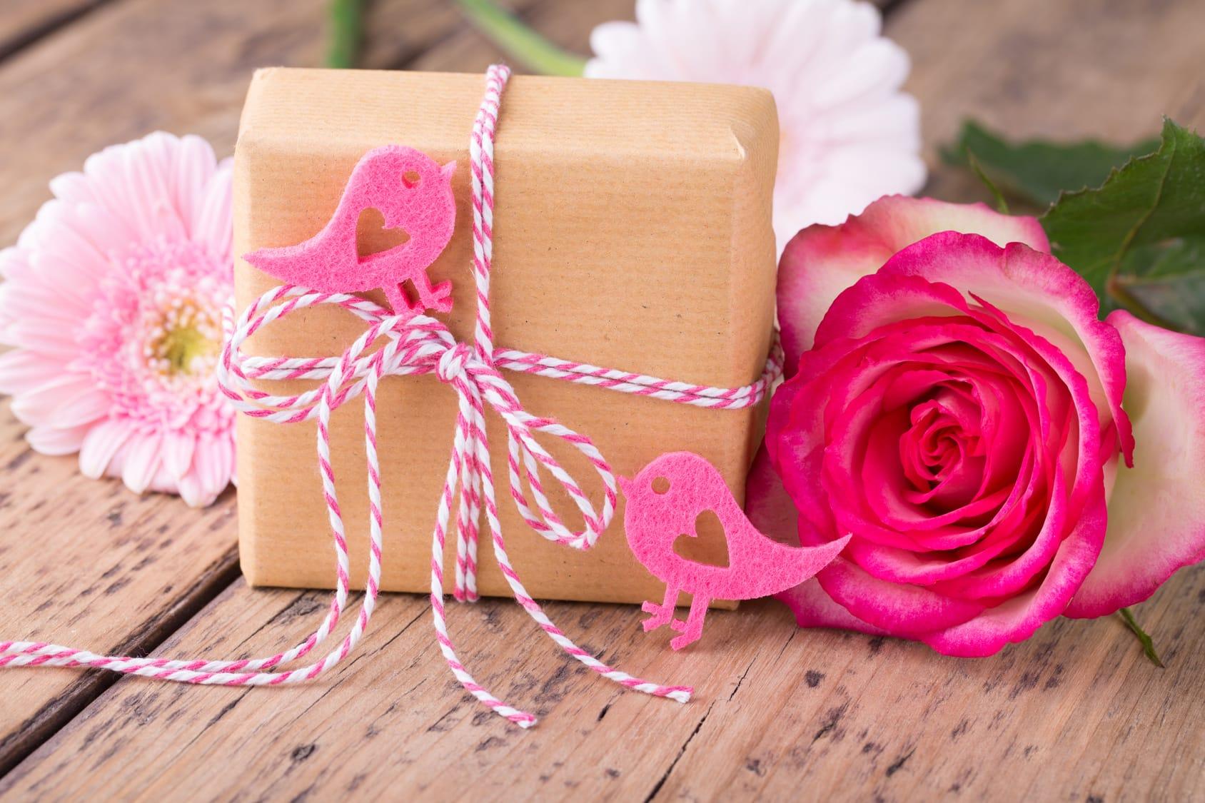 Hochzeitsgeschenk Blumen