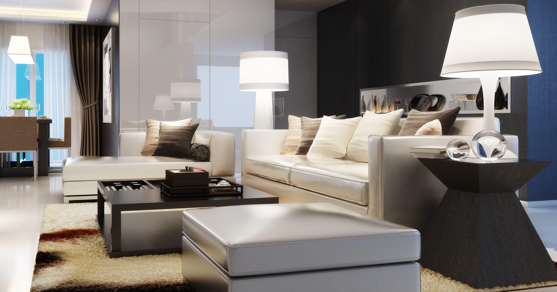 Wohnung modern einrichten  4 Tipps  Haushaltstippsnet