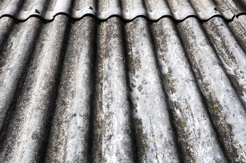 Asbest erkennen  So gehts