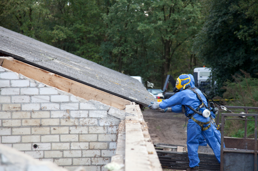 Asbest versiegeln  Anleitung in 4 Schritten
