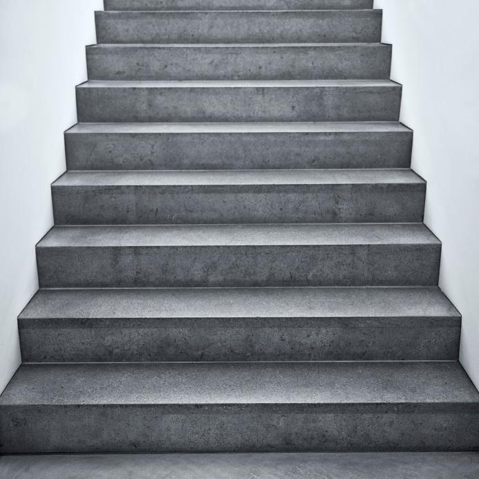 Auentreppe verputzen  Anleitung in 5 Schritten