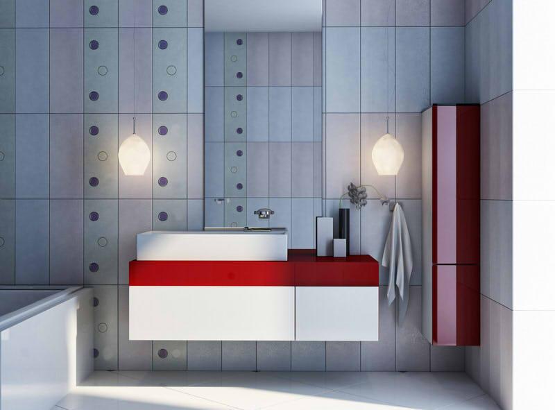 Muster fr Fliesen im Badezimmer  Aktuelle Trends