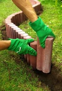 Palisaden aus Beton setzen  Anleitung in 6 Schritten
