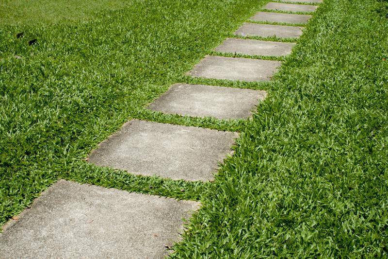 Betonplatten verlegen  Schritt fr Schritt Anleitung