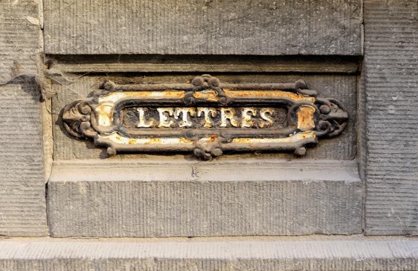 Briefkasten einbetonieren  So gehts am einfachsten
