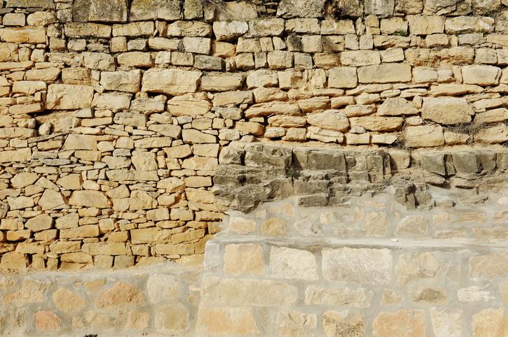 Bruchsteinmauer neu verfugen  Detaillierte Anleitung