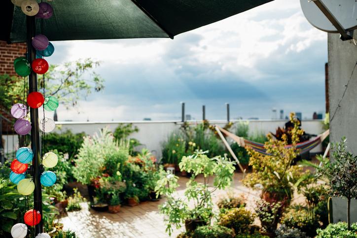 Dachterrasse verschnern  Leicht umsetzbare kreative Ideen