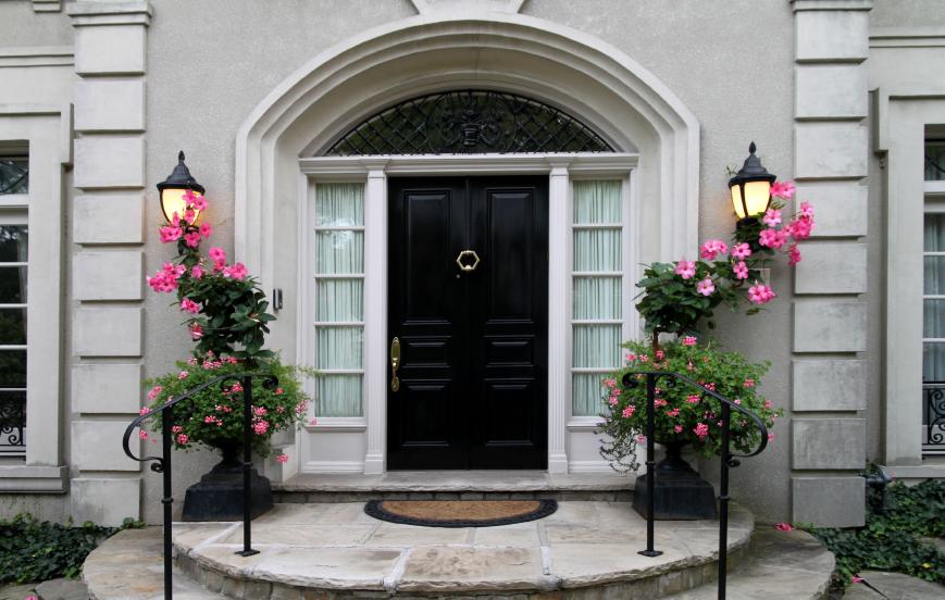 Eingangstreppen fr den Hauseingang  Die Mglichkeiten