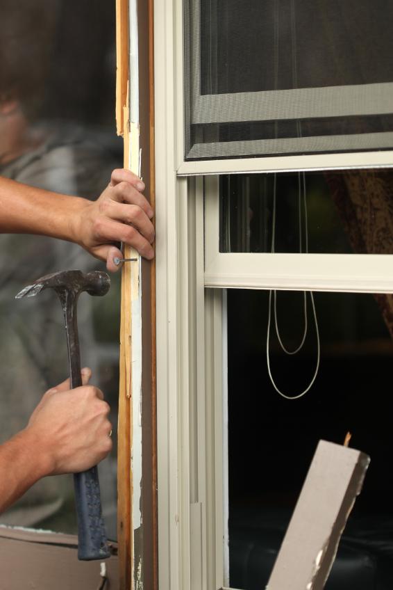 Fensterleisten entfernen  Aufbau des Fensters  Vorgehen
