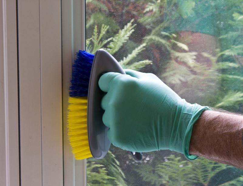 Fensterrahmen reinigen  Schritt fr Schritt zu mehr