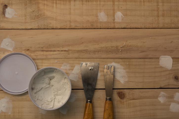 Holz spachteln  Womit wirds gemacht