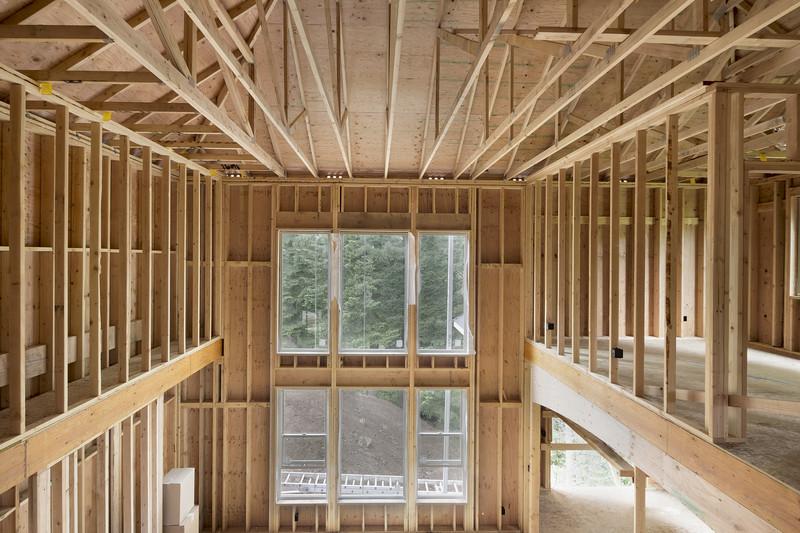 Holzstnderbauweise Details  Ein Blick in den Wandaufbau
