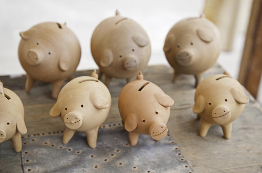 Keramik selber machen  Anleitung zum Gieen