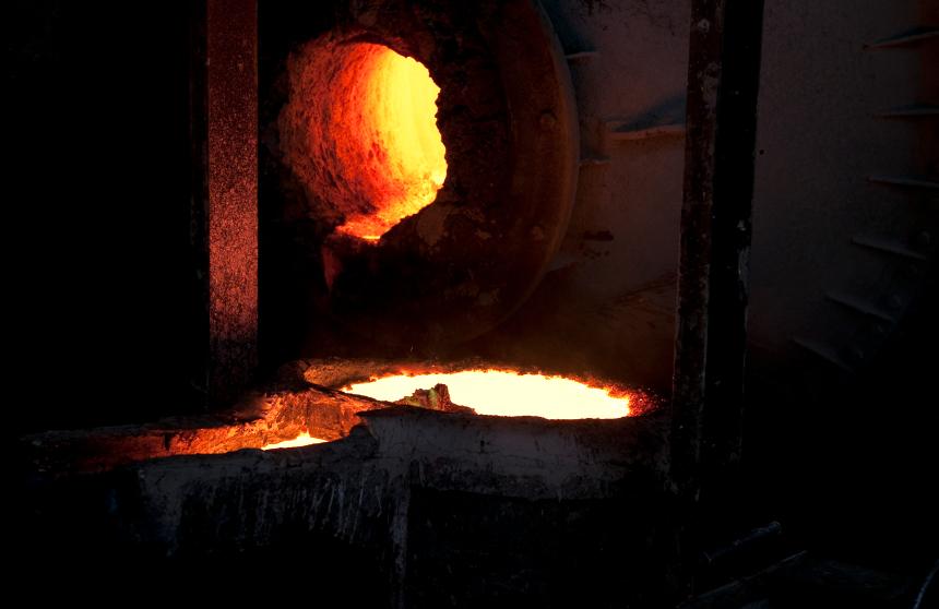 Kupfer schmelzen  So gehts