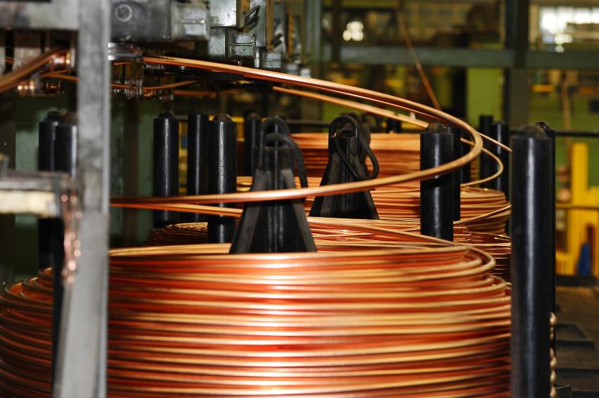 Kupferrohr zur Spirale biegen  So gehts