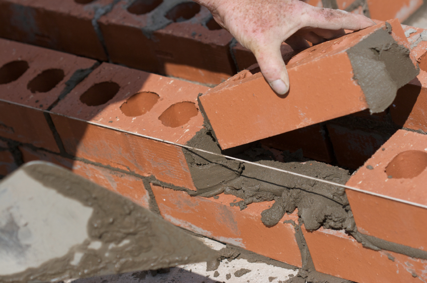 Mauersteine setzen  Anleitung in 4 Schritten