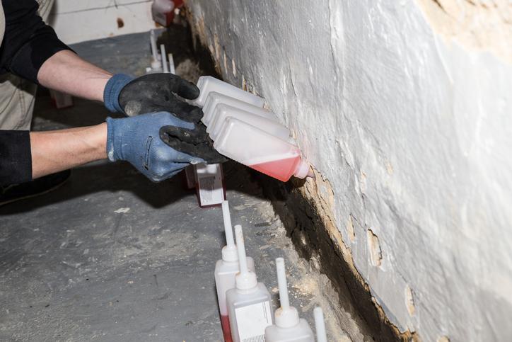 Mauerwerk trockenlegen  Kann man die Injektion selber machen
