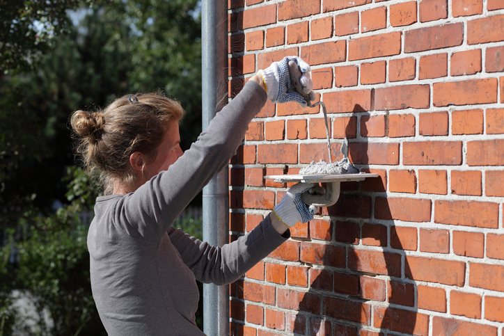 Mauerwerk neu verfugen  Anleitung in 3 Schritten