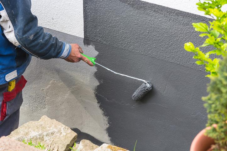 Sillikatfarbe auf Beton streichen  Geht das