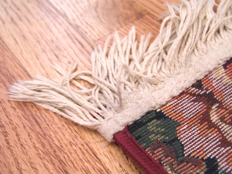 Teppichfransen reinigen  So werden sie schonend gesubert