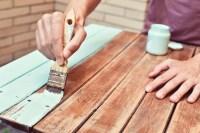 Tisch streichen  Welche Farbe eignet sich am besten?