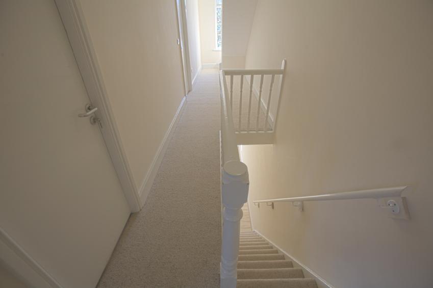 Treppe tapezieren  So wirds gemacht