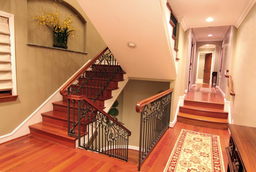 Treppe verschnern  Kreative Gestaltungsideen