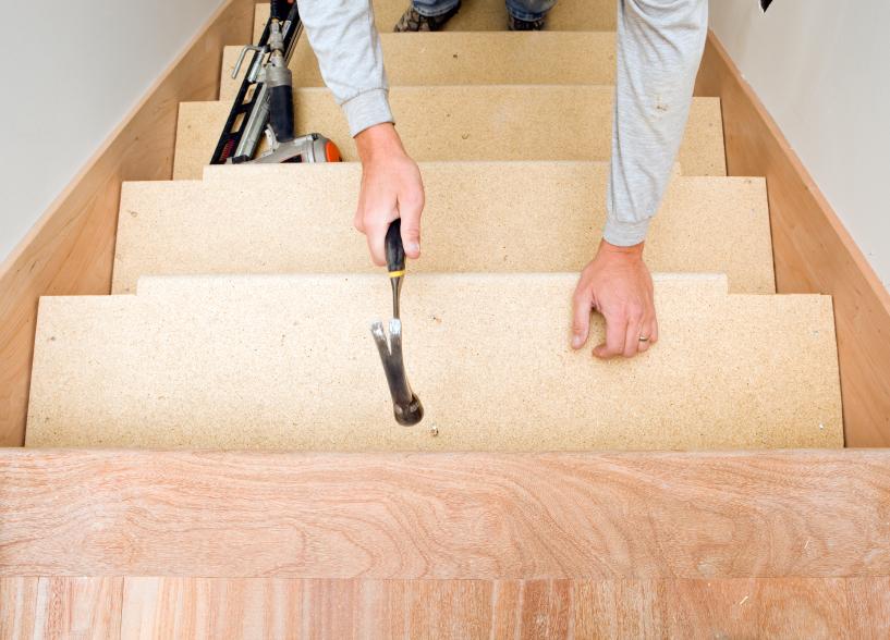 Treppe verziehen  So wirds gemacht