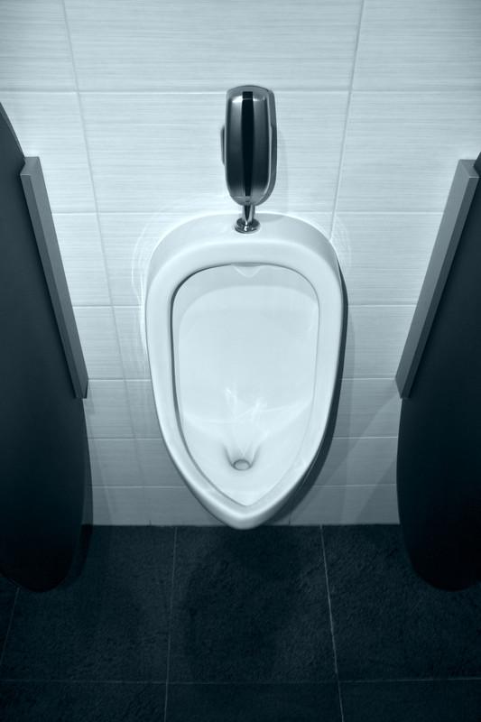 Wie gro ist ein Urinal  Welche Mae sind blich