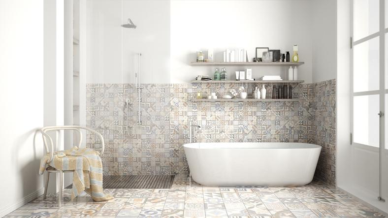 Badezimmer Platten Bohren