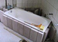 Badewanne einmauern - Schritt fr Schritt, so geht's!