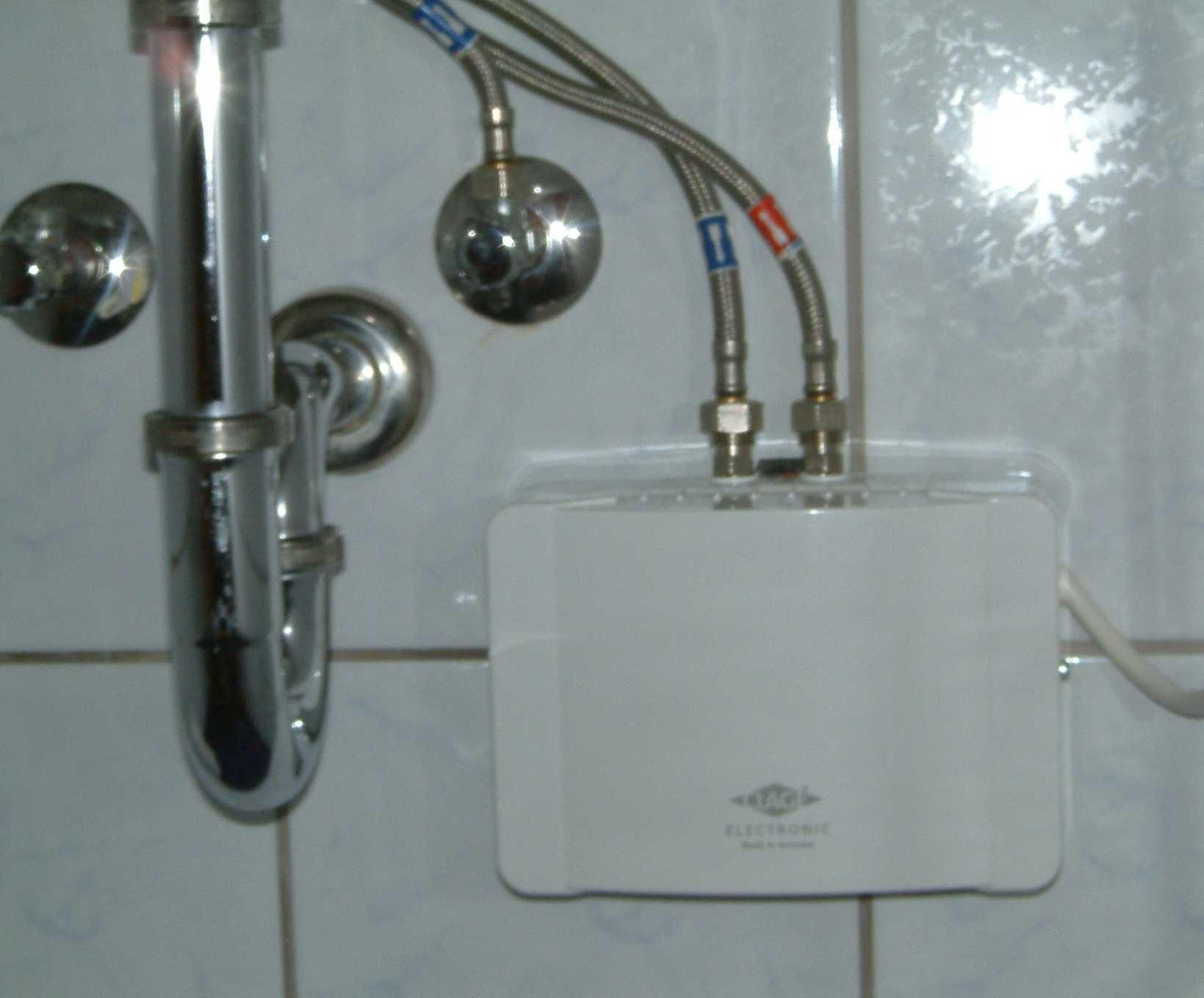 Durchlauferhitzer im Bad Worauf Sie achten mssen