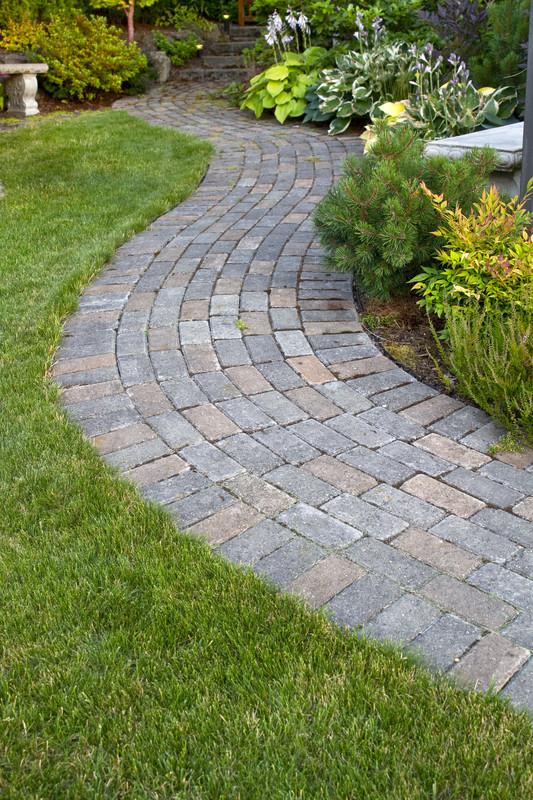 Gartenwege pflastern  Anregungen und Anleitung zum selber