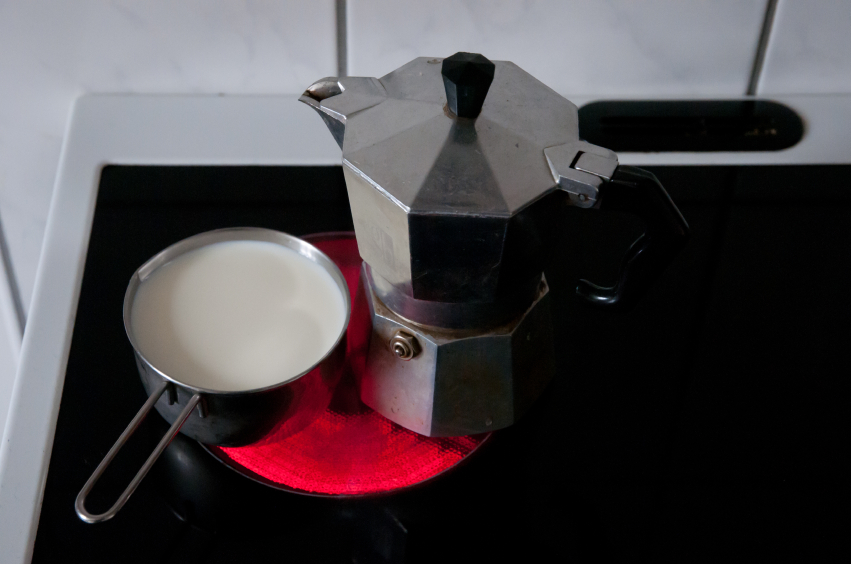 Espressomaschine fr den Herd  Der Espressokocher