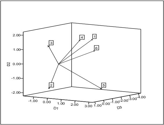 perceptual map
