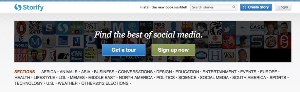 storify social media