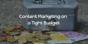 making money on a tight budget