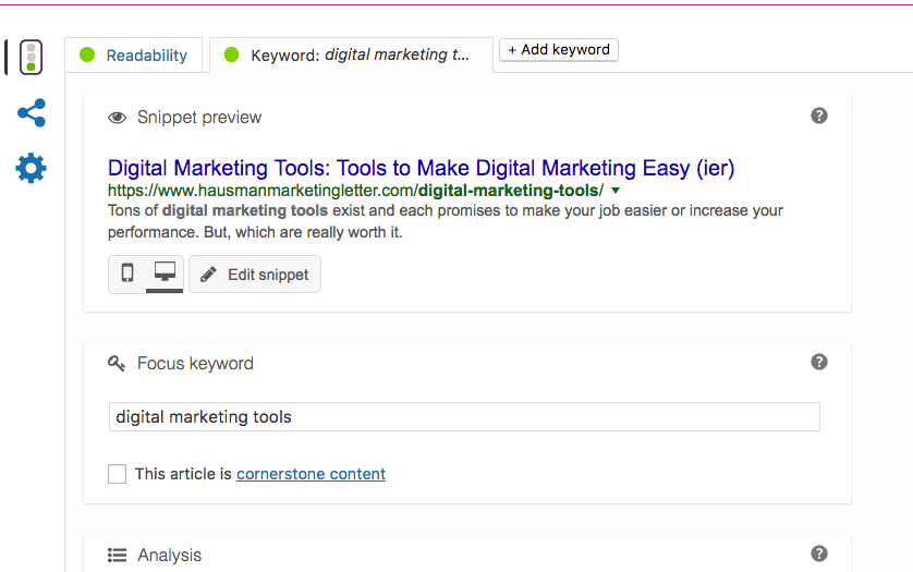 SEO digital marketing tools