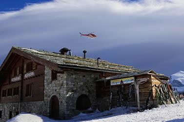 Gourmed Rundflug mit der Air Zermatt