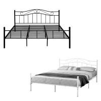 [en.casa] Metallbett 90/120/140/180/200x200 Bett ...