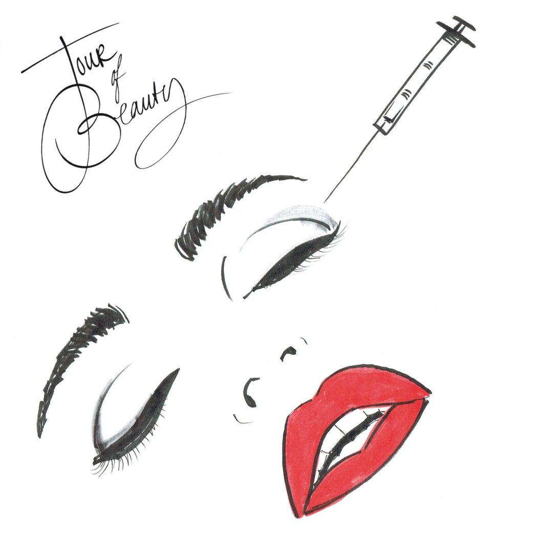 Botox illustration
