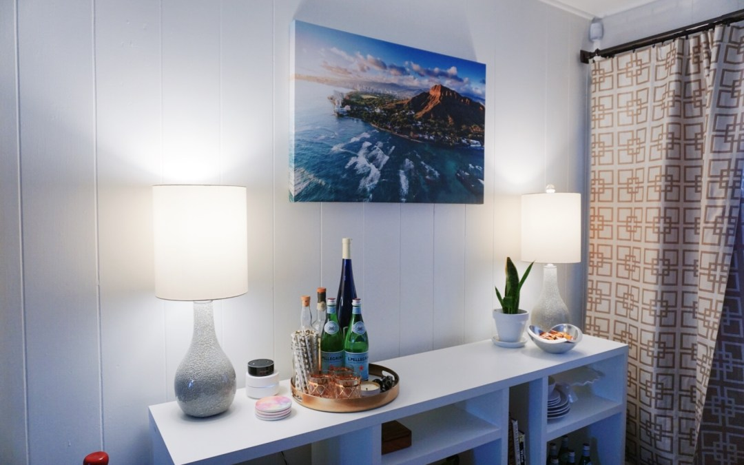 How to Style a Home Bar