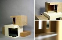 Habitat 11 Modern Cat House by Sarah Chou  hauspanther