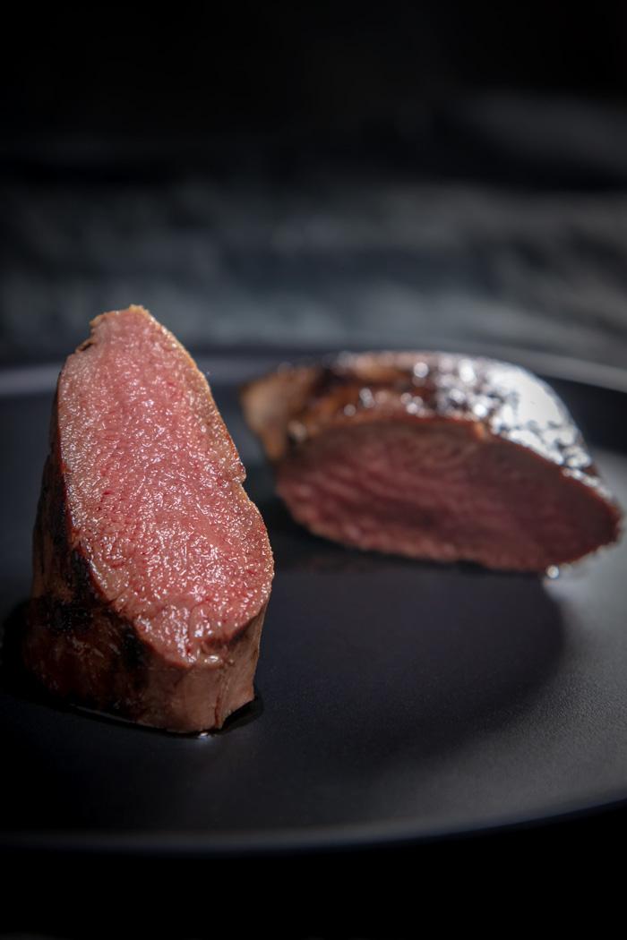 Steak, Fleisch, Reh, Rehrücken, Rehsteak
