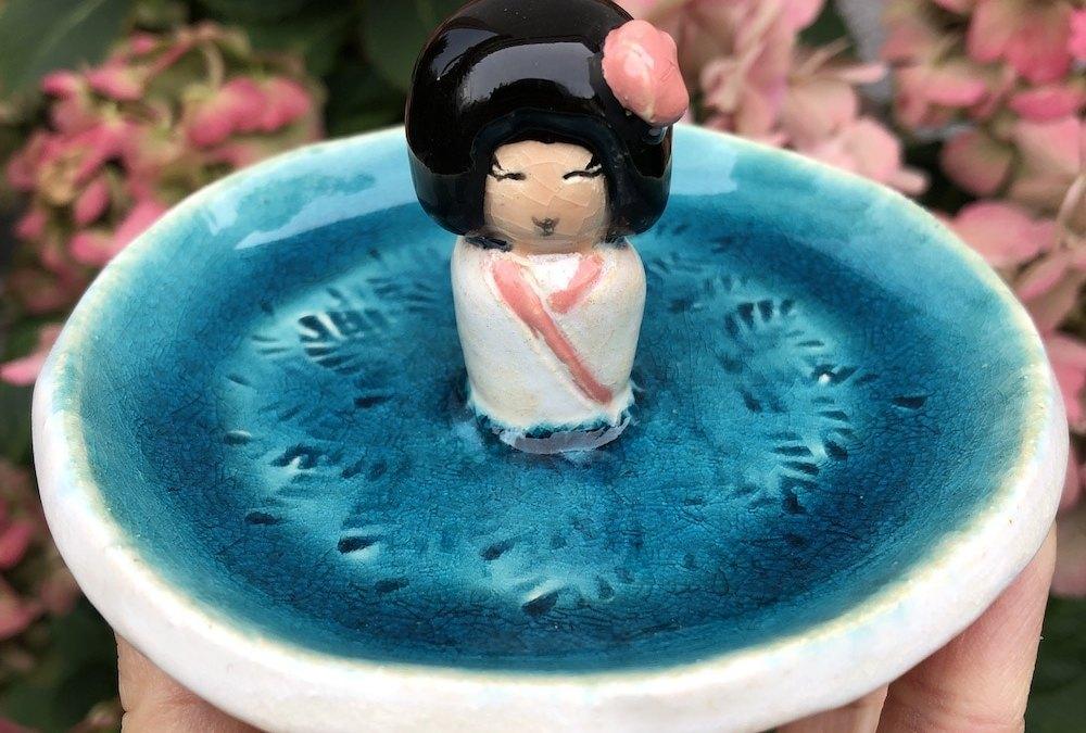 Poupée «Kokeshi»