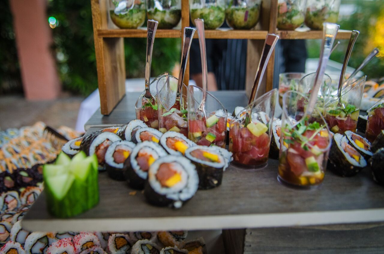 Wedding food ideas for buffet