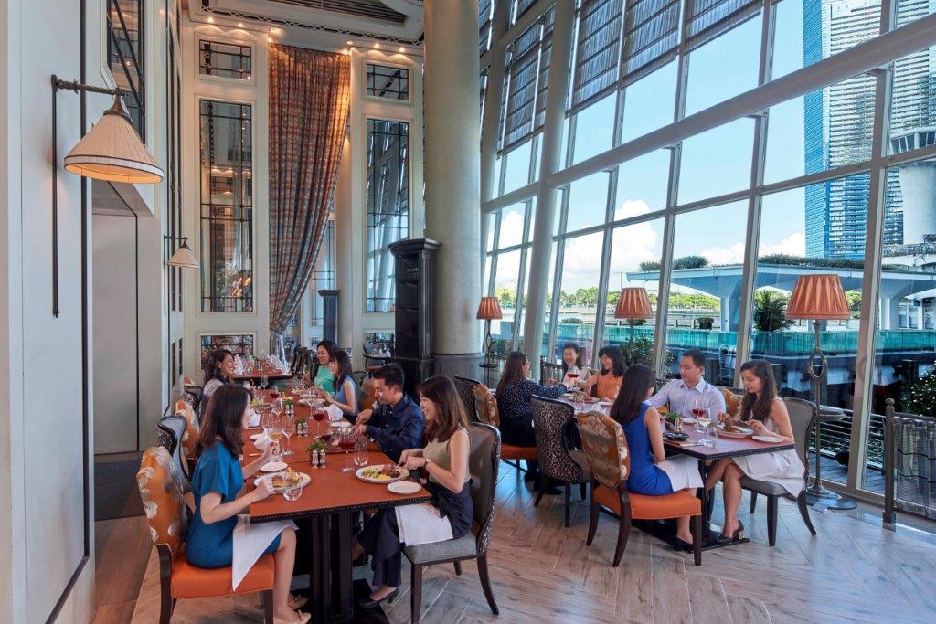 La Brasserie At The Fullerton Bay Hotel Singapore Haute