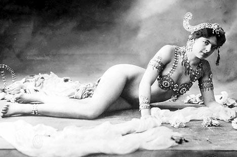 Mata Hari liggend